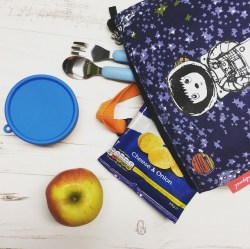 zip and zoe spaceman lunch bag