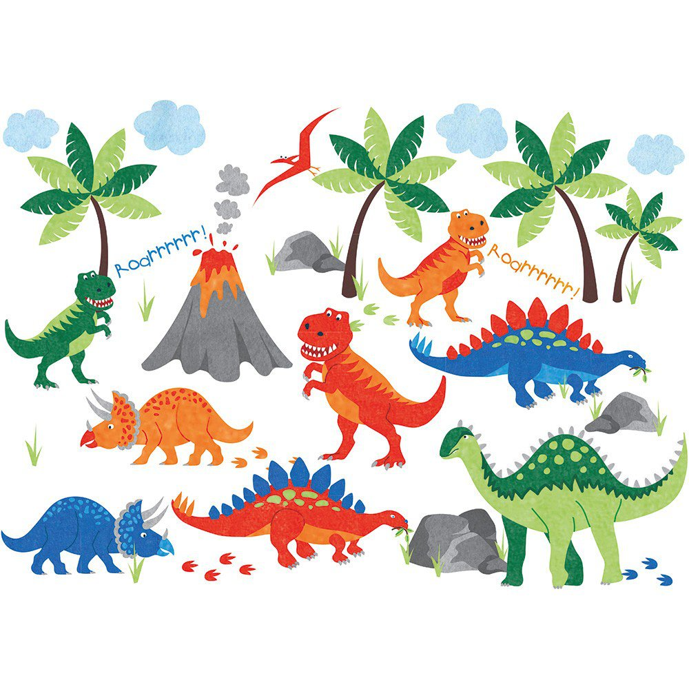 Wall Stickers For Kids Dinosaurs Wall Stickers